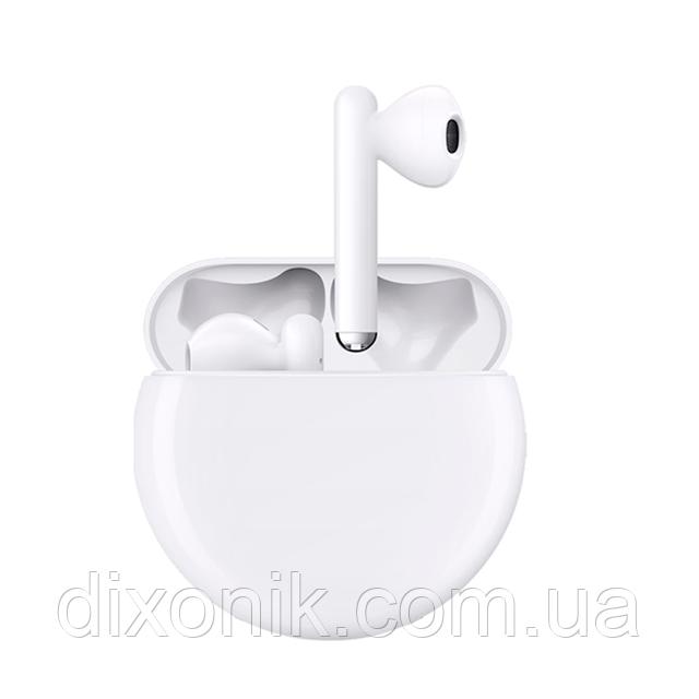 Наушники Bluetooth беспроводные Huawei FreeBuds 3 white с беспроводной зарядкой кейса