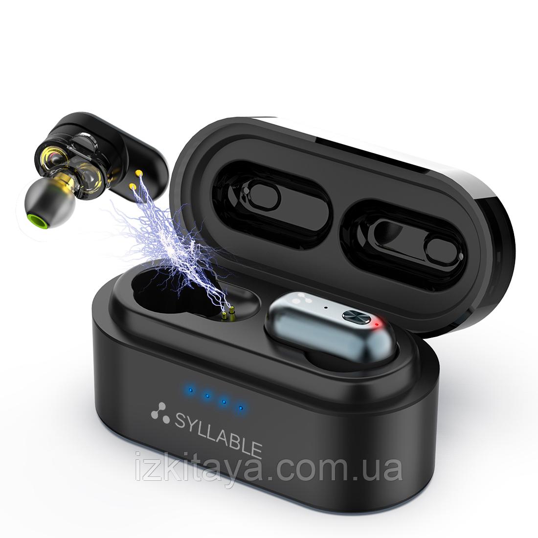 Бездротові навушники Bluetooth SYLLABLE S101 Plus black