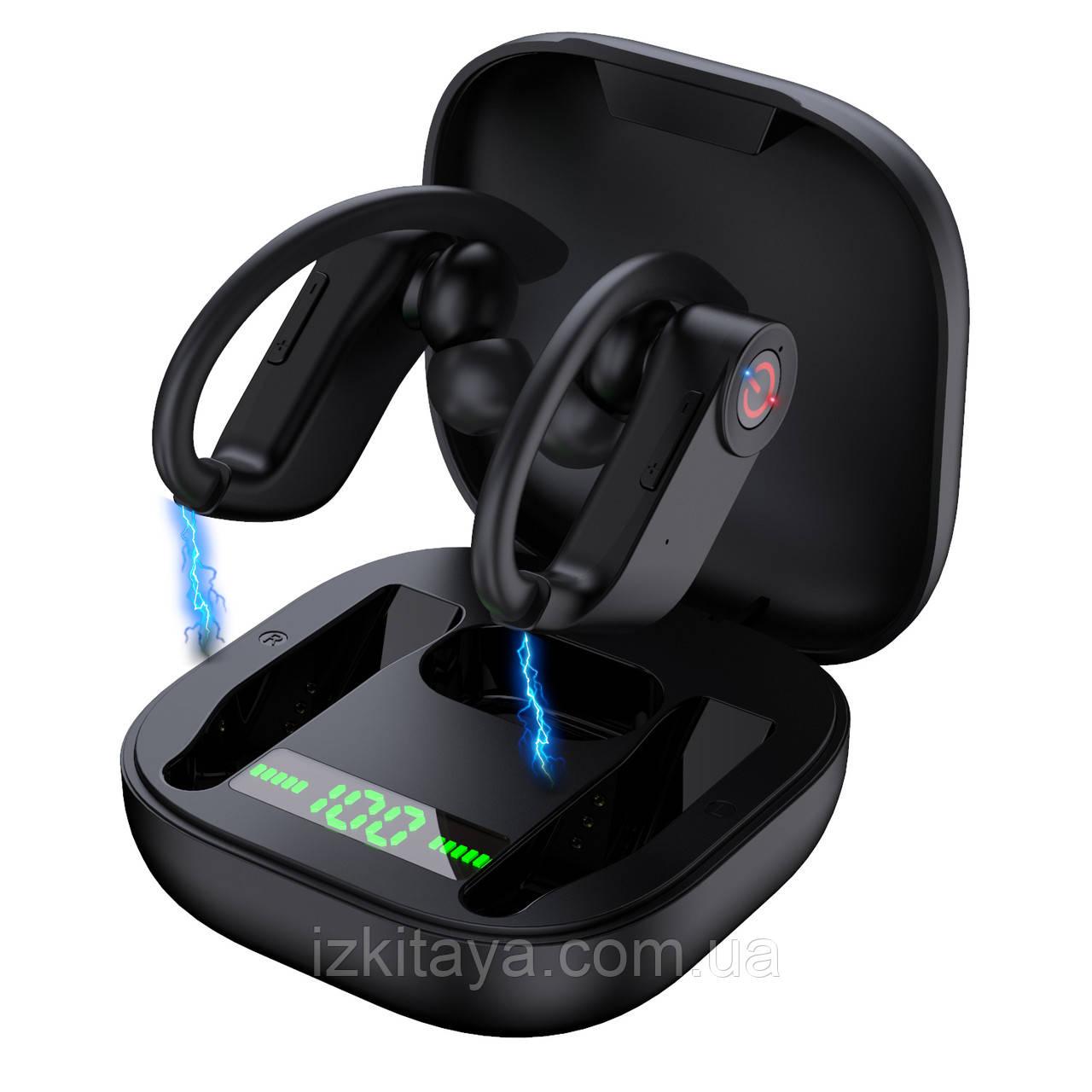 Бездротові навушники Bluetooth SYLLABLE PowerHBQ Pro black