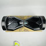 Гироборд гироскутер сігвей Smart Balance 8 дюймів Синій космос з підсвічуванням автобалансом і сумкою, фото 9