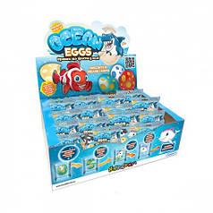 Растущая игрушка в яйце «Ocean Eggs» - Повелители океанов и морей (12 шт., в дисплее)
