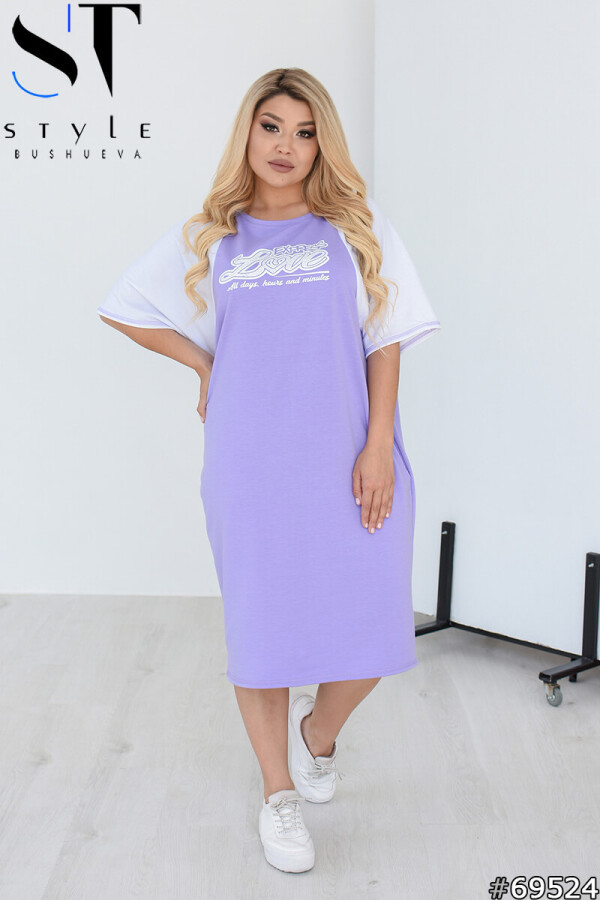 Женское платье повседневное трикотажное свободное размеры: 50-60