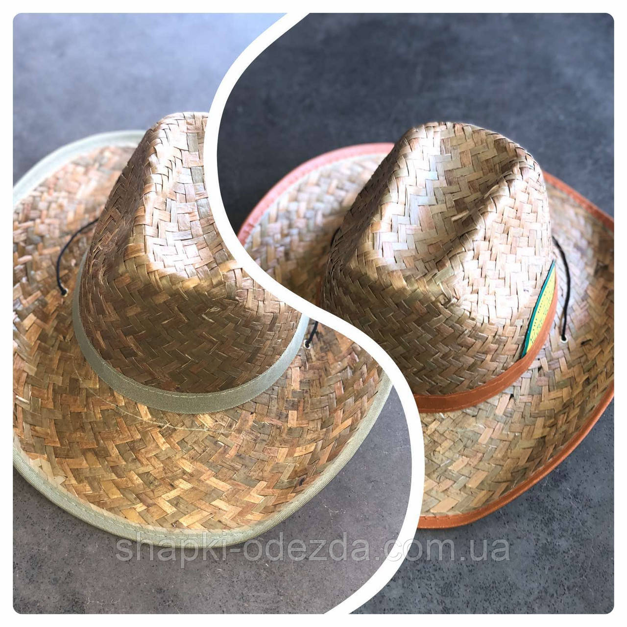 Шляпа Мужская Оптом Ковбойская