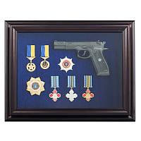 Подарок сувенирный Пистолет Форт с наградами, фото 1