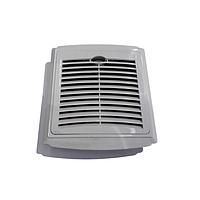 Накладная вентиляционная решетка RZ 515-1, 150х150 мм, пластик, фото 1
