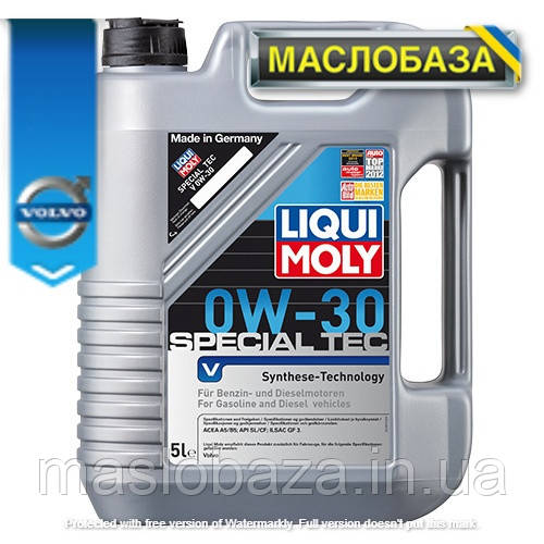 Синтетичне моторне масло - Special Tec V 0W-30 5 л.