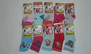 Шкарпетки дитячі для дівчаток бавовна+стрейч, р. 12. Від 12 пар по 7 грн.