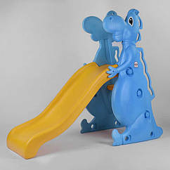 "Горка Pilsan ""Dino slide"" Синяя с желтым (92053)"
