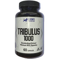Тестостероновый бустер Lions Nutrition Tribulus 1000 (60 капсул.)