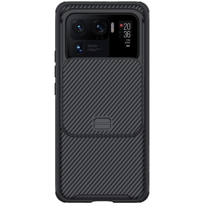 Защитный чехол Nillkin для Xiaomi Mi 11 Ultra (CamShield Pro Case) Black с защитой камеры