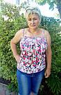 Майки жіночі р. 46-50 бавовна стрейч №948.Від 5шт по 49грн, фото 2