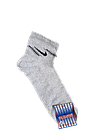 Носки мужские вставка сеточка р.27 светло-серый, бежевый хлопок стрейч Украина. От 10 пар по 6,50грн., фото 4