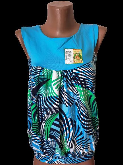 """Блуза футболка женская """"Каролина"""" р.42-44, 44-46 хлопок стрейч. Цвета разные. От 3шт по 49грн"""
