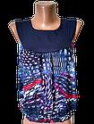 """Блуза футболка женская """"Каролина"""" р.42-44, 44-46 хлопок стрейч. Цвета разные. От 3шт по 49грн, фото 2"""