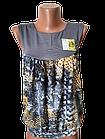 """Блуза футболка женская """"Каролина"""" р.42-44, 44-46 хлопок стрейч. Цвета разные. От 3шт по 49грн, фото 6"""