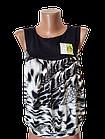 """Блуза футболка женская """"Каролина"""" р.42-44, 44-46 хлопок стрейч. Цвета разные. От 3шт по 49грн, фото 7"""