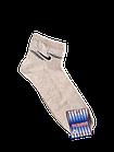 Носки мужские вставка сеточка р.29 светло-серый, бежевый хлопок стрейч Украина. От 10 пар по 6,50грн, фото 2