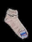 Носки мужские вставка сеточка р.29 светло-серый, бежевый хлопок стрейч Украина. От 10 пар по 6,50грн, фото 3