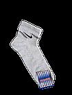 Носки мужские вставка сеточка р.29 светло-серый, бежевый хлопок стрейч Украина. От 10 пар по 6,50грн, фото 4