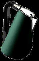 Электрочайник в кожаной отделке  Casa Bugatti 14-VERABP4 ,цвет зеленый