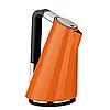 Электрочайник  отделка с кристаллами  Casa Bugatti 14-VERASW4/CО Details of light, цвет оранжевый