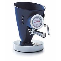 Кофемашина в кожаной отделке Casa Bugatti 15-DIVABP2 ,цет  синий