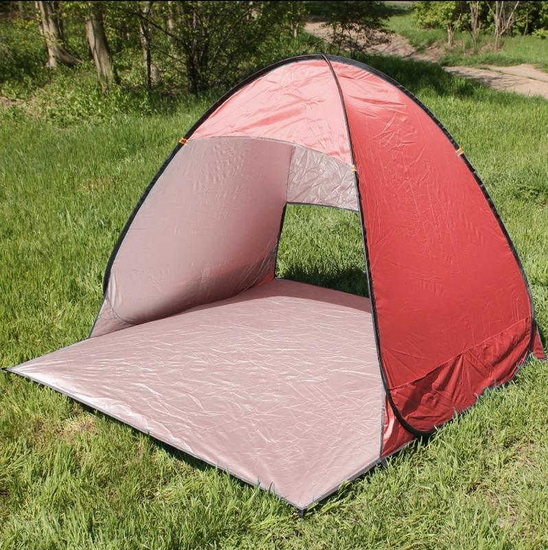 Палатка пляжная Stripe Портативная палатка для кемпинга, палатка автомат самораскладывающаяся