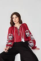 Женская вышитая блуза Роксолана, фото 3