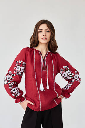 Женская вышитая блуза Роксолана, фото 2