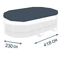 Тент - чехол для каркасного бассейна Bestway 58425, 427 х 250 см