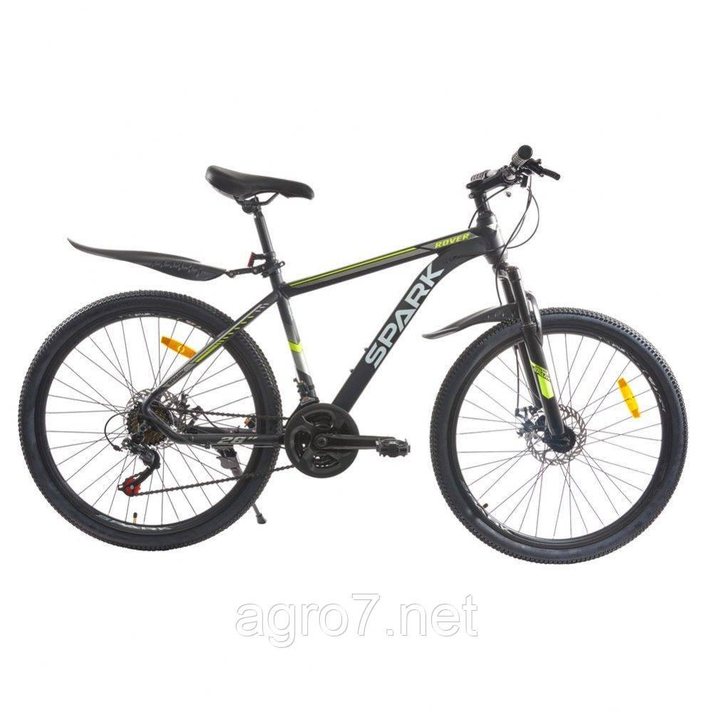 Велосипед SPARK ROVER 26-AL-17-AM-D (Черный с желтым)