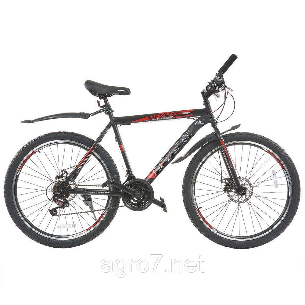 Велосипед SPARK FORESTER 26-ST-20-ZV-D (Черный с красным)