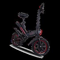 Електровелосипед Proove Model Sportage чорно-червоний