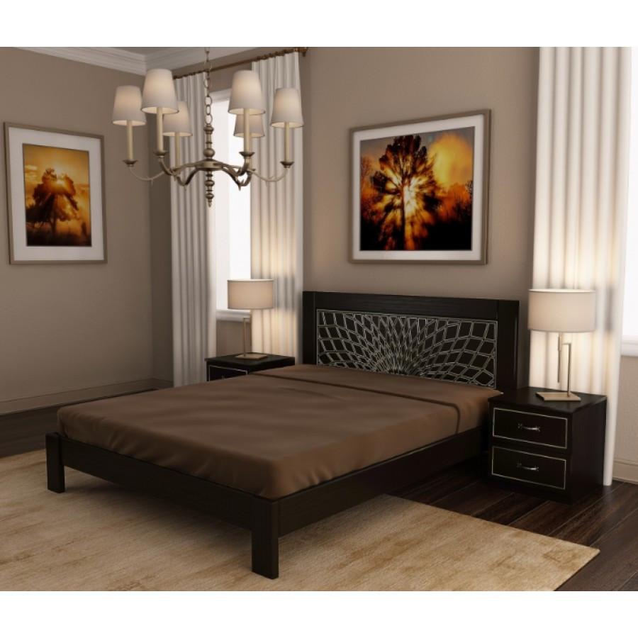 Ліжко дерев'яна Барселона , ArtWood колір білий