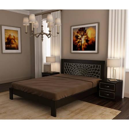 Ліжко дерев'яна Барселона , ArtWood колір білий, фото 2