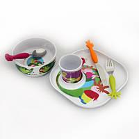 Набор детской посуды Casa Bugatti 07-SH01, из 6 предметов