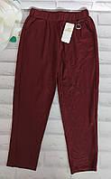 Штаны летние укороченные бриджи женские р. L/XL(46-48) трикотажные цветные Остатки Kenalin (800-2)