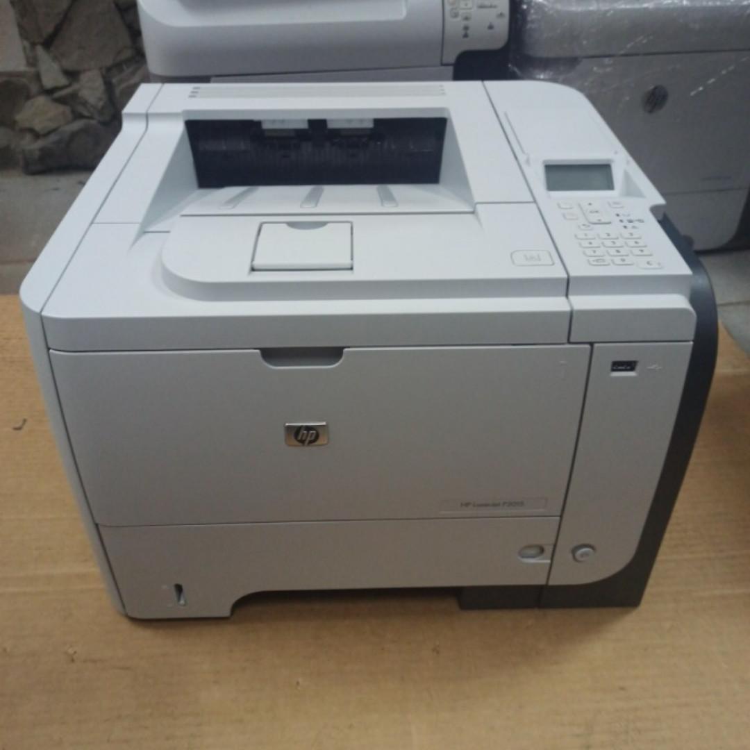 Принтер HP LaserJet P3015DN пробіг 4 тис з Європи