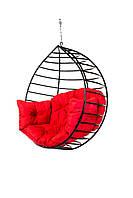 Кресло качеля кокон для дома и сада Kospa подвесное без подставки 150 кг Красный