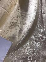 Плотная однотонная шторная ткань жаккард с легким напылением, высота 2.8 м на метраж, фото 7