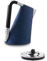 Електрочайник Casa Bugatti Individuale 14-VERADE , колір джинс синій