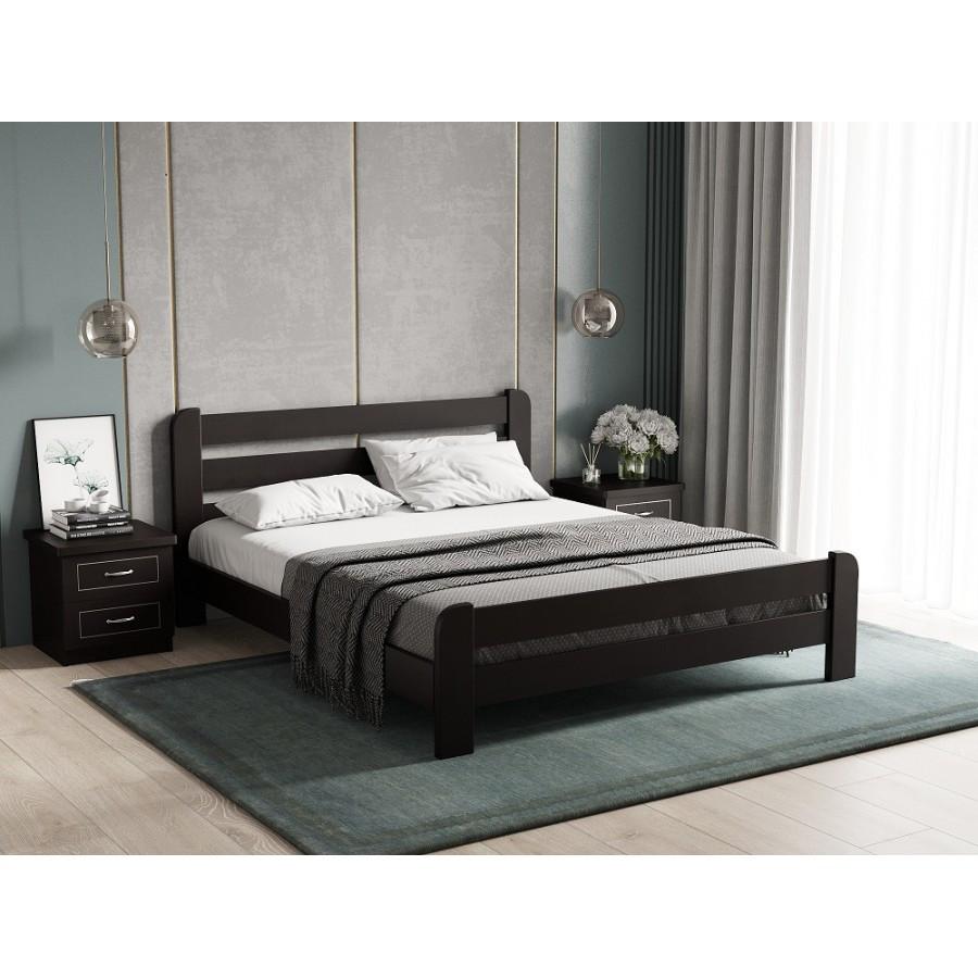 Кровать деревянная   Малага , ArtWood цвет венге