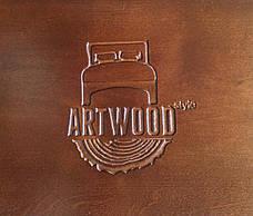 Кровать деревянная   Малага , ArtWood цвет венге, фото 2