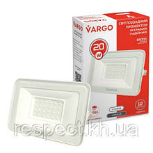 Прожектор LED VARGO 20W білий 220V