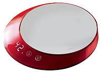 Кухонные весы с таймером  Casa Bugatti GL3U-02180, цвет красный , фото 1
