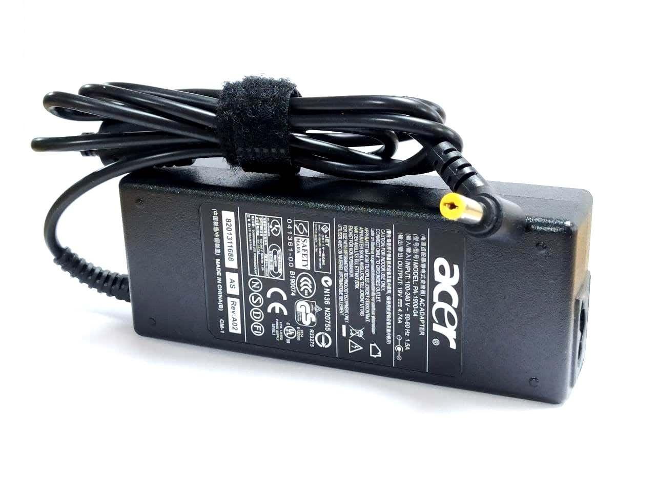 Блок питания для ноутбука Acer Aspire 8730ZG 19V 4.74A 90W