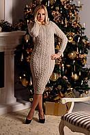 Платье вязаное Тина