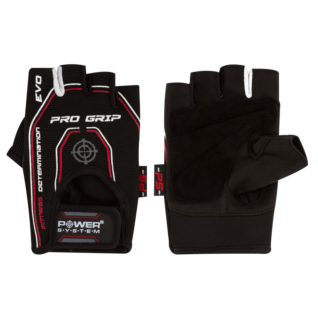 Перчатки для фитнеса и тяжелой атлетики Power System Pro Grip EVO PS-2250E Black XL