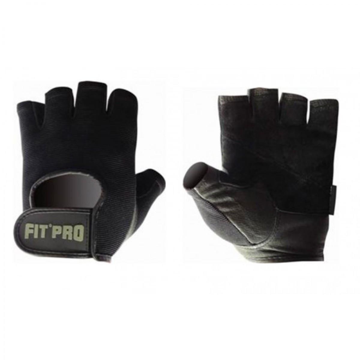 Перчатки для фитнеса и тяжелой атлетики Power System FP-07 B1 Pro Black S