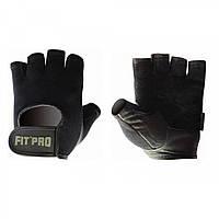 Перчатки для фитнеса и тяжелой атлетики Power System FP-07 B1 Pro Black S, фото 1
